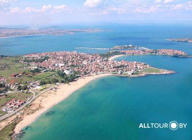 Море Болгарии цвета лазури