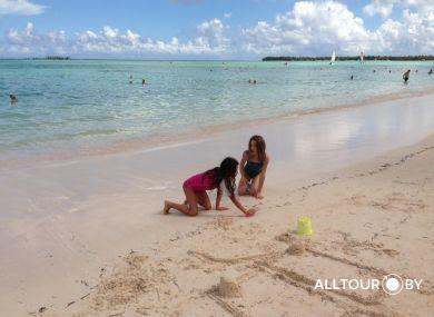 Пляжи Доминиканы - рай для детей