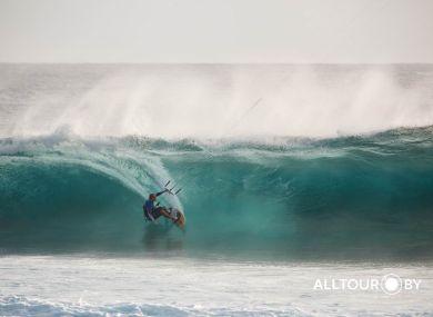 Серфинг на Маврикии