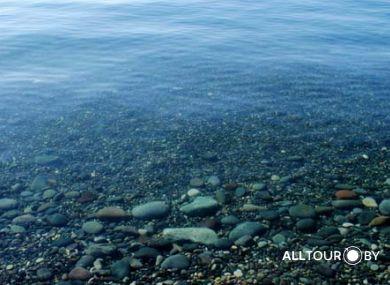 Чистейшее море в Батуми.
